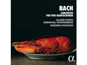 ENSEMBLE MASQUES / OLIVIER FORTIN / EMMANUEL FRANKENBERG - Bach: Concertos For Two Harpsichords (CD)