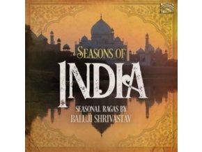 BALUJI SHRIVASTAV - Seasons Of India - Seasonal Ragas By Baluji Shrivastav (CD)