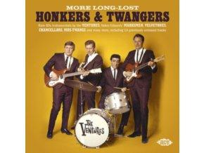 VARIOUS ARTISTS - More Long-Lost Honkers & Twangers (CD)