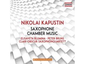 CLAIR-OBSCUR SAX QUARTETT - Nikolai Kapustin: Saxophone Chamber Music (CD)