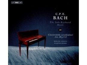 MIKLOS SPANYI - Carl Philipp Emanuel Bach: The Solo Keyboard Music. Vol. 39 (CD)