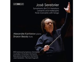 VARIOUS ARTISTS - Jose Serebrier: Symphonic B A C H Variations / Laments And Hallelujuahs / Flute Concerto With Tango (SACD)