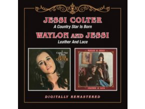 JESSI COLTER - Country Star / Leather & Lace (CD)