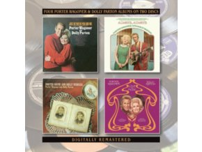 PORTER WAGONER & DOLLY PARTON - Just Between You And Me / Always. Always / Porter Wayne And Doll (CD)