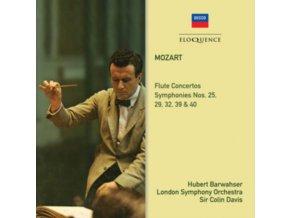 LSO / HUBERT BARWAHSER / SIR COLIN DAVIS - Mozart: Flute Concertos / Symphonies 39. 40. 25. 29. 32 (CD)