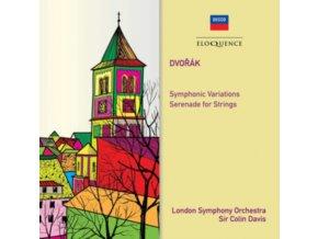 LONDON SYMPHONY ORCHESTRA / SIR COLIN DAVIS - Dvorak: Symphonic Variations / Serenade For Strings (CD)