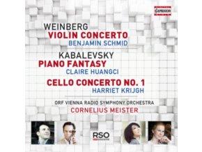 SCHMID / HUANGCI / KRIJGH - Weinberg: Violin Concerto (CD)