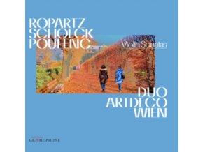 SETAREH NAJFAR-NAHVI / THERESIA SCHUMACHER - Ropartz. Schoeck & Poulenc: Violin Sonatas (CD)