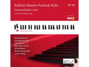 ELISABETH BRAUSS / GIUSEPPE GUARRERA & TIFFANY POON & OTHERS - Edition Klavier - Festival Ruhr Vol. 38 - Live Recordings 2019 (CD)