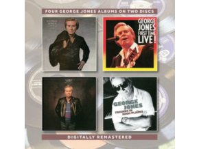 GEORGE JONES - Still The Same Ole Me / First Time Live! / One Woman Man / Friends In High Places (CD)