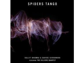 KULJIT BHAMRA & DAVIDE GIOVANNINI - Spiders Tango - Captivating And Seductive Soundscapes (CD)