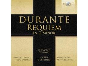 ASTRARIUM CONSORT / CARLO CENTEMERI - Durante: Requiem In G Minor (CD)