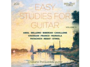 CRISTIANO PORQUEDDU - Easy Studies For Guitar. Vol. 3 (CD)