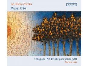 COLLEGIUM VOCALE 1704 / COLLEGIUM 1704 / VACLAV LUKS - Jan Dismas Zelenka: Missa 1724 (CD)