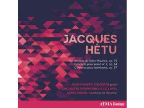 JEAN-PHILIPPE SYLVESTRE / ORCHESTRE SYMPHONIQUE DE LAVAL & ALAIN TRUDEL - Hetu: Concertos (CD)