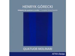 MOLINARI QUARTET - Gorecki: Complete String Quartets (CD)