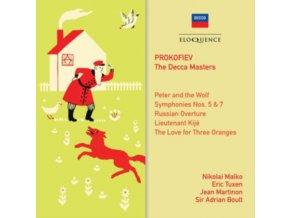 SIR ADRIAN BOULT / JEAN MARTINON / ERIC TUXEN / NIKOLAI MALKO - Prokofiev: The Decca Masters (CD)