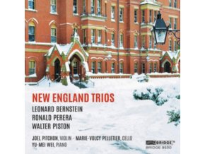 PITCHON - New England Trios (CD)