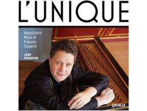 JORY VINIKOUR - LUnique: Harpsichord Music Of Francois Couperin (CD)