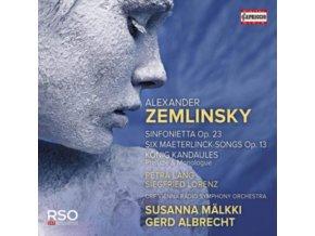 ORF VRSO / MALKKI / ALBRECHT - Alexander Zemlinsky: Sinfonietta. Op. 23 / Six Maeterlinck-Songs Op. 13 / Konig Kandaules (CD)