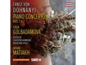 GULBADAMOVA / DEUTSCHE STAATS - Ernst Von Dohnanyi: Piano Concertos Nos. 1 & 2 (CD)