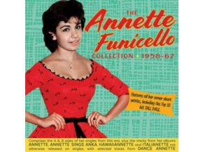 ANNETTE FUNICELLO - The Singles & Albums Collection 1958-1962 (CD)