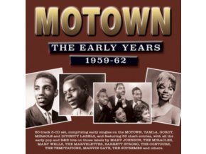 VARIOUS ARTISTS - Motown - The Early Years 1959-1962 (CD)