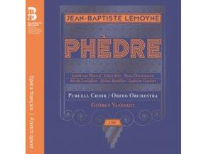 TASSIS CHRISTOYANNIS / JULIEN BEHR / PURCELL CHOIR / ORFEO ORCHESTRA / GYORGY VASHEGYI / JEROME BOUTILLIER / JUDITH VAN WANROIJ / MELODY LOULEDJIAN / LUDIVINE GOMBERT - Jean-Baptiste Lemoyne: Phedre (CD + Book)
