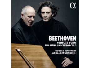 ALEXANDER LONQUICH / NICOLAS ALTSTAEDT - Beethoven: Complete Works For Piano And Violoncello (CD)