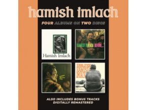 HAMISH IMLACH - Hamish Imlach / Before And After / Live! / The Two Sides Of Hamish (CD)