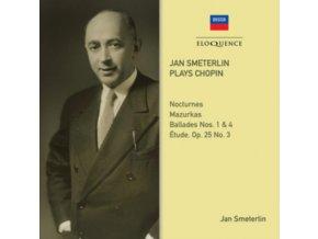 JAN SMETERLIN - Han Smeterlin Plays Chopin (CD)