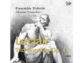 ENSEMBLE DIDEROT / JOHANNES PRAMSOHLER - Leclair: Trio Sonatas Op. 4 (CD)