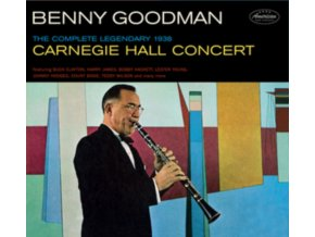 BENNY GOODMAN - The Complete Legendary 1938 Carniegie Hall Concert + 8 Bonus (CD)