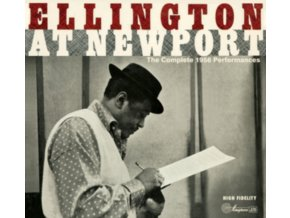 DUKE ELLINGTON - Complete Newport 1956 Performances + 6 Bonus Tracks! (CD)