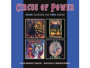 CIRCUS OF POWER - Circus Of Power / Vices / Magic & Madness / Live At The Ritz (CD)