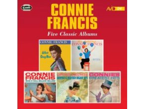 CONNIE FRANCIS - Five Classic Albums (CD)