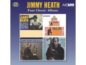 JIMMY HEATH - Four Classic Albums (CD)