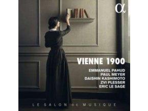DAISHIN KASHIMOTO / EMMANUEL PAHUD / ERIC LE SAGE / PAUL MEYER / ZVI PLESSER - Vienne 1900 (CD)