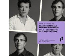 ERIC LE SAGE / FRANCOIS SALQUE - Brahms: Sonates Pour Violoncelle Et Piano (Integrale Musique De Chambre). Vol. 7 (CD)