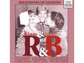 VARIOUS ARTISTS - Kings & Queens Of Rhythm & Blues (CD)
