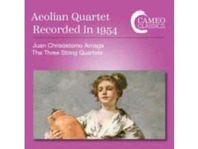 AEOLIAN QUARTET - Juan Chrisostomo Arriaga: The Three String Quartets (CD)