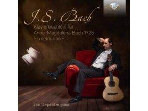 JAN DEPRETER - J.S. Bach: Klavierbuchlein Fur Anna-Magdalena Bach (CD)