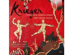 ALEJANDRO CASAL - Krieger: Complete Harpsichord And Organ Music (CD)