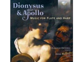 CLAUDIO ORTENSI / ANNA PASETTI - Dionysus & Apollo: Music For Flute And Harp (CD)