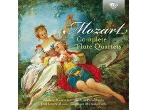 ANDREA MANCO / ANDREA PECOLO / JOEL IMPERIAL / GIANLUCA MUZZOLON - Mozart: Complete Flute Quartets (CD)