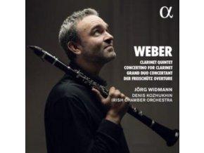 JORG WIDMANN - Weber: Clarinet Quintet. Concerti For Clarinet. Grand Duo Concertant & Der Freischutz Overture (CD)