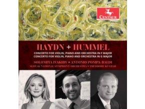 SOLOMIYA IVAKHIV / ANTONIO POMPA-BALDI & SLOVAK NATIONAL SYMP - Haydn. Hummel: Concertos For Violin. Piano And Orchestra (CD)
