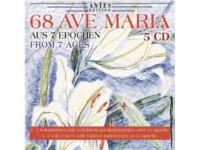 ANDREA CHUDAK. ANDREAS SCHULZ. JULIAN ROHDE. JAKUB SAWICKI - 68 Ave Maria - Aus 7 Epochen (CD)