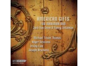 ZELTSMAN - American Gifts For Marimba Duo (CD)