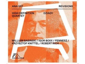 HIGH DEFINITION QUARTET - Revisions - Forefathers Eve (CD)